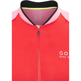 GORE BIKE WEAR Power Phantom 2.0 Maillot manches courtes Homme, red/giro pink